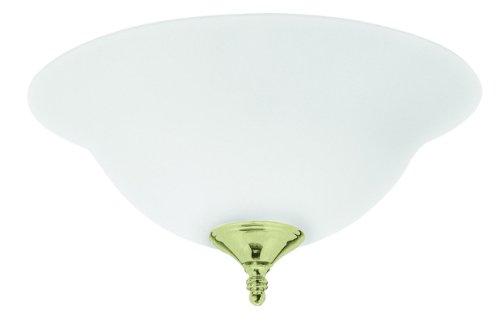 Hunter Ceiling Fan Frosted 2-Light Bowl Light Kit / Semi-Flu