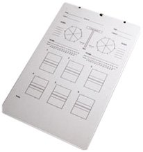 - Tandem Sport Deluxe Volleyball Clipboard