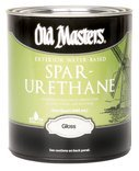 OLD MASTERS 74401 Water-Based Spar Urethane
