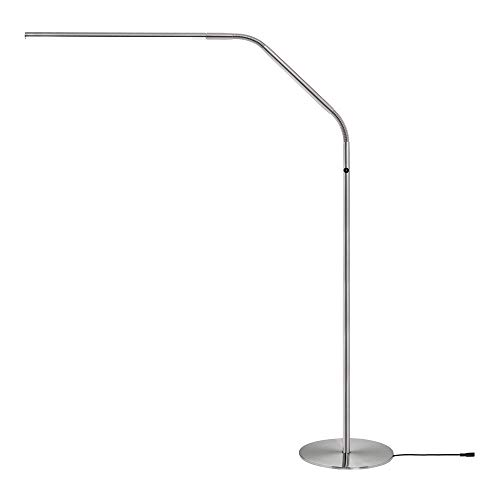 Daylight Company LLC Daylight Company Slimeline 3 led floor Lamp, Brushed Steel