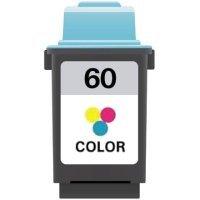 Remanufactured Lexmark #60 (17G0060) Color Inkjet Cartridge