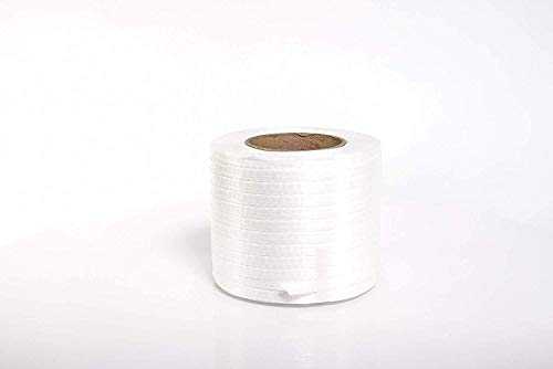 PAC Strapping P-40TCW Cord Strapping, 1,500' Length, 1/2'' Width, White (Тwo Рack) by PAC Strapping Products (Image #1)