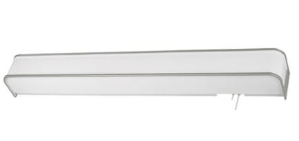 MSEC by AFX, Contemporary Overbed Light w/ Decorative Accent Trim - 25 watt - Champagne