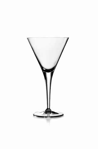 Luigi Bormioli Set of 4 Michelangelo Masterpiece 8.75-Oz. Martini Glasses by Luigi Bormioli