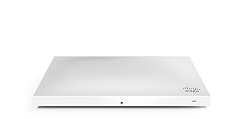 Cisco Meraki MR42 Wireless Access Point (3x3 MIMO, 2.4GHz and 5GHz, Wave2, 802.11ac, POE) by Meraki