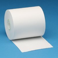 Nashua Advantage 15# POS, Finance or ATM 1-Ply Bond Paper Roll Item 7055 (165' x 3