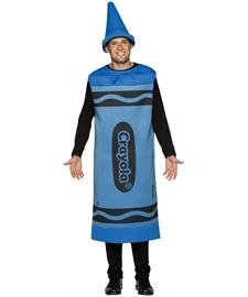 Blue Crayola Crayon Costume - Large/XL - Chest Size 42-48 for $<!--$23.28-->