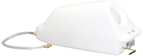 - Sandia 40-1000 Solution Tank with Super-Drain Valve, 4 gal, Standard White