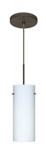 UPC 767893817718, Besa Lighting 1JT-412307A-W1-SN Down Pendant, Mini, Satin Nickel Finish