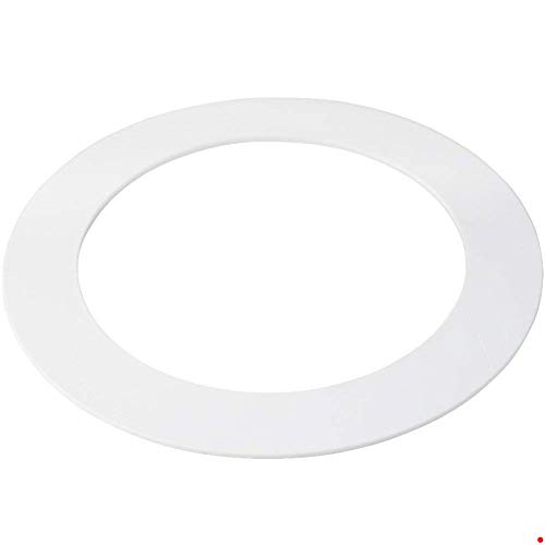 (5 Pk White Goof/Trim Ring for 5/6 inch Recessed Can Lighting Down)