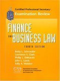 Finance and Business Law : CPS Examination Review, Cherry, Brigid, 0130300411
