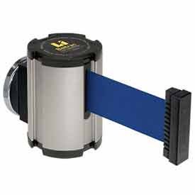 Lavi Industries 50-41300MG-SA-BL Magnetic Wall Mount Unit44; 13 Ft. Retractable Belt Extension44; Blue