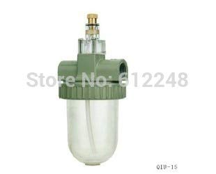 Fevas Compressed Air Pneumatic 1/2'' BSPT Atomized Lubricator Oiler 3000 L/min QIU-15 by Fevas