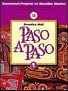 Amazon paso a paso writing audio video activities level 1 paso a paso level 1 assessment program blackline masters fandeluxe Image collections