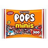 Tootsie Pops Minis with Chocolatey Center, Assorted Flavors, 300 Count Halloween Candy Giveaway Bag Peanut Free, Gluten Free - PACK OF 3 by Tootsie Roll
