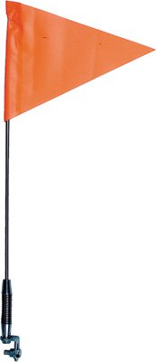 TELESCOPING SPRING MOUNT SAFETY FLAG