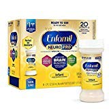 Enfamil NeuroPro Infant Formula – Brain Building Nutrition Inspired by Breast Milk – Ready to Use Liquid, 2 fl oz (24 Count) Saving Deal (48 Bottles (2 Pack))