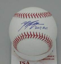 Ryan Braun autographed baseball with