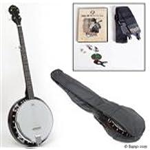 Savannah SB-100 Left Handed 5-String Banjo with Starter Pack