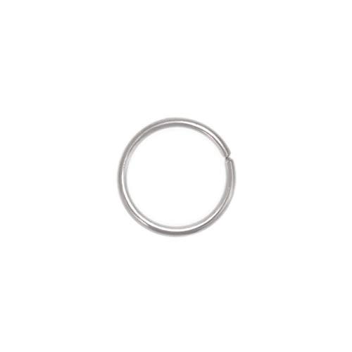 Nose Ring Hoop - surgical steel nose piercing 22g 20g 18g, nose hoop
