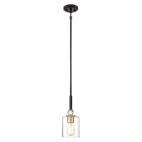 Minka Lavery Pendant Ceiling Lighting 3070-416 Studio 5, 1-Light 60 Watts, Painted Bronze