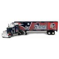 New England Patriots 2005 NFL Fleer Diecast Peterbilt Tractor Trailer Truck by Fleer Collectibles