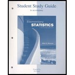 Student Study Guide for use with Elementary Statistics : A Step by Step Approach, Bluman, Allan G., 0073048267