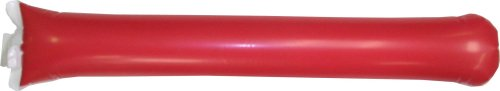 Promote Your Team Bam Bam Thunder Sticks 500 Pairs- RED Inflatable Noisemakers- Spirit Sticks Great for Sporting Events, Awareness Campaigns, and Customization by Promote Your Team