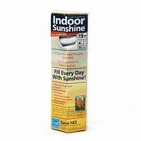 (Indoor Sunshine: Single 15-watt Spiral Bulb )