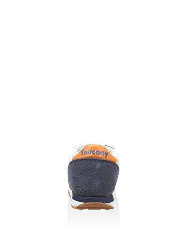 37 Original Jazz 5 us Sneaker 5 Bianco arancione Navy blu Eu Saucony Boys Originals qvRw4UWtZ