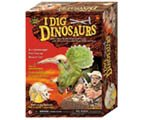 : I Dig Triceratops Skeleton Excavation Adventure - Paleontology arts and crafts for kid