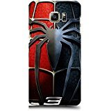 Samsung Galaxy Note 5 Case Cover,Classical Spider Logo Design 3D Comic Spiderman Phone Case Cover for Samsung Galaxy Note 5 Hot Superhero
