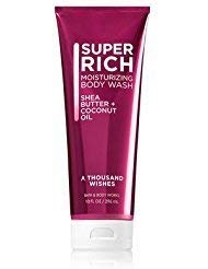 Bath and Body Works A Thousand Wishes Super Rich Moisturizing Shower Body Wash 10 Ounces