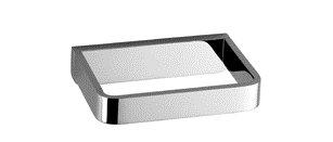 (Dornbracht 83590710-06 Lulu Reserve Tissue Holder In Platinum Matte)