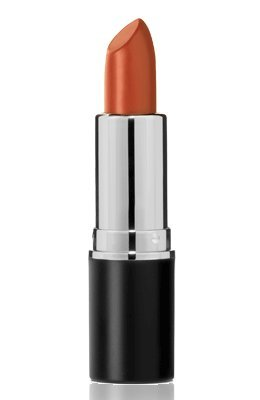 Frosted Lipstick by Sacha Cosmetics, Best Frost Moisturizing Long Lasting Lip Stick, Color Intense Makeup for All Skin Tones, 0.15 oz, Amber Glow