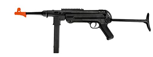 Double Eagle WWII MP40 Spring Powered Airsoft Rifle Gun FPS 250 w/Folding Rear Stock