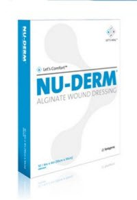 Systagenix Nu-Derm Alginate Wound Dressing - 1'' x 12'' Rope