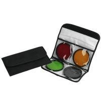B + W B4 Plastic 4-Filter Pouch for Up to 82mm Filters