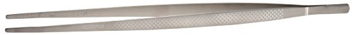 Mercer Culinary M35232 Straight Precision Plus Chef Plating Tong, 11-3/4
