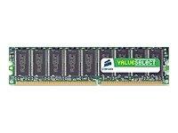 Corsair Value Select Memory - 512 MB - DIMM 184-pin - DDR (VS512MB400C3)
