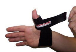 Fabrifoam Thumb Spica Med/Large-Right (Black)