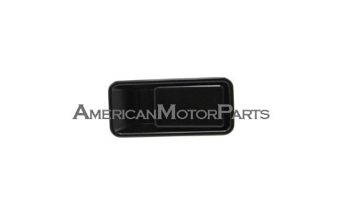- Jeep Wrangler Black Outside Front Driver Side Replacement Door Handle With Half Door Type