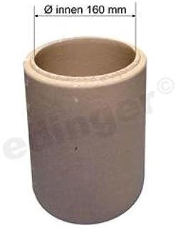 Favorit Ø 150 mm Schornstein - Wanddurchführung 500 mm kürzbar mit CP16