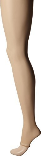(Pretty Polly Women's Naturals 8 Denier Flex Fit Tights Barely There Medium/Large)