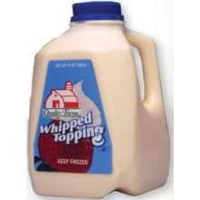 Quality Farms Ready to Use Whipped Topping, 35 Ounce Jug -- 12 per case.