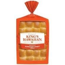 Kings Hawaiian Sweet Dinner Roll, 24 Ounce -- 240 per case.
