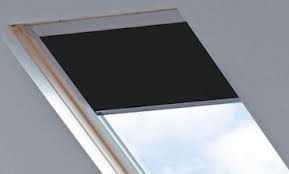 blackout roof skylight blind for velux ggl gpl ghl black 0009 sys f co4 6. Black Bedroom Furniture Sets. Home Design Ideas