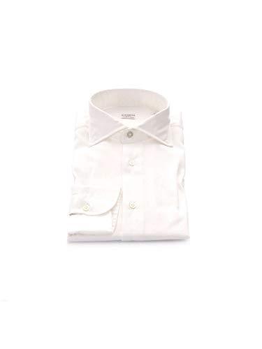 Coton Borriello Homme Napoli Chemise 7006white Blanc qSIqr