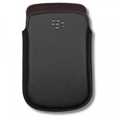 Leather Case Hdw 38844 001 For Black Berry 9900 9930 by Black Berry