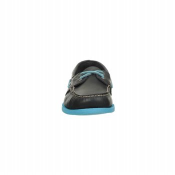 and Sperry Non All Outsole Genuine Eye Leather Blue Neon Shoes Original Marking Men's 2 Boat Navy Sider Authentic Top Rubber rnxSOrC